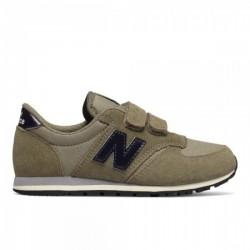new balance ke420 nuy - kaki, cuir/suede, cuir/textile