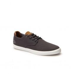 lacoste sneakers esparre en toile - gris, cuir/textile, cuir/textile