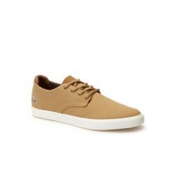 lacoste sneakers esparre en toile - beige, cuir/textile, cuir/textile
