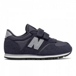 new balance ke420 nhi - bleu, cuir/suede, cuir/textile