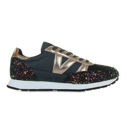victoria jogging multicolore glitter 141103 - noir, synthétique, synthétique