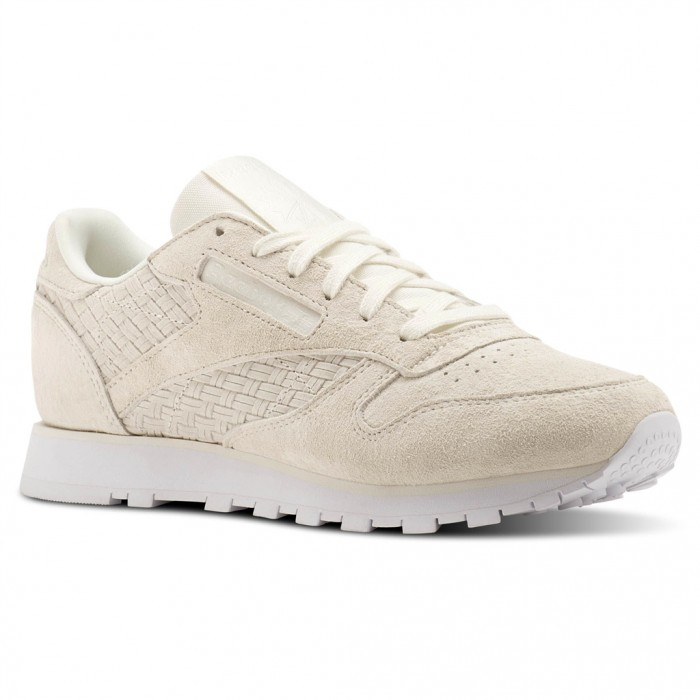 reebok cl leather woven