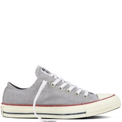 converse chuck taylor all star stone wash - gris, textile