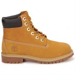 timberland® icon 6-inch premium boot junior 12909 - wheat, cuir, tissu
