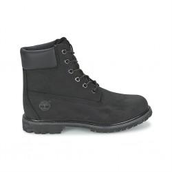 timberland premium waterproof boots femme 8658a - noir, cuir, cuir