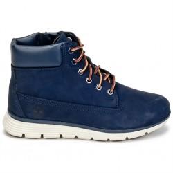 timberland killington boot enfant - marine, cuir, cuir