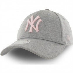 NEW ERA - CASQUETTE NEW YORK GRIS ET ROSE