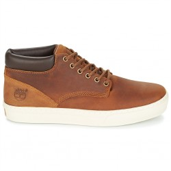 timberland adventure cupsole chukka - medium brown - marron, cuir, cuir/textile