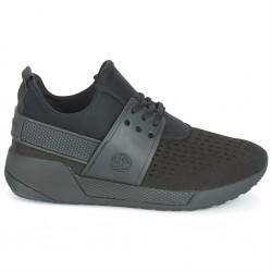 timberland kiri up sneaker femme noir de jais - noir, cuir/textile, cuir/textile