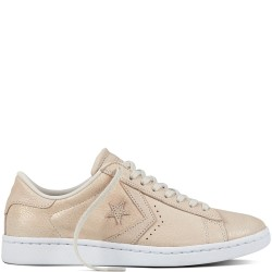 converse pro leather - beige, cuir, cuir/textile