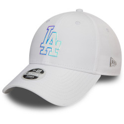 NEW ERA - CASQUETTE FEMME 9FORTY MLB NYLON 12134628 LOS ANGELES DODGERS BLANC