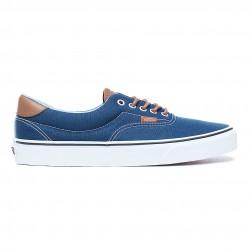 vans chaussure era - bleu, toile, tissu