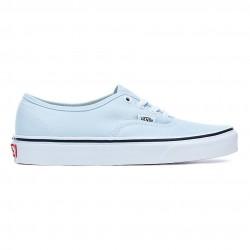 vans chaussure authentic - bleu-ciel, toile, tissu