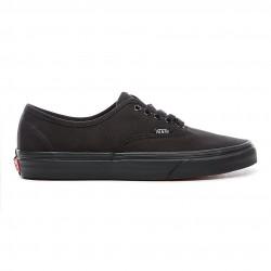 vans chaussure authentic - blk-blk, toile, tissu