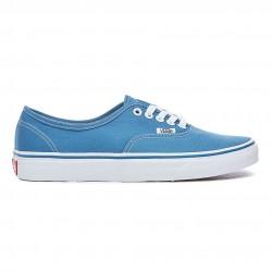 vans chaussure authentic - navy, toile, tissu