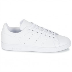 adidas stan smith j - blanc, cuir, cuir/textile