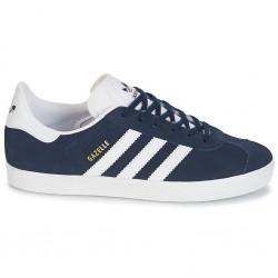 adidas gazelle j - bleu, cuir/suede, cuir/textile