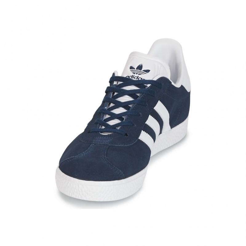 Gazelle Bleu Sur Détails Chaussures Adidas J Adultes Neuf gfYb76yv
