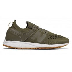 new balance 247 decon - kaki, syntetic/textile, syntetic/textile