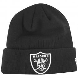 new era winter hat beanie - cuff oakland raiders