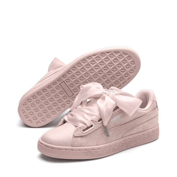 puma suede heart bubble wn's