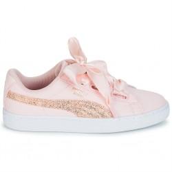 puma wns heart - pink, tissu, tissu
