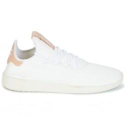 adidas pw tennis - blanc-beige, cuir/textile, textile