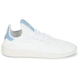 adidas pw tennis - blanc-bleu, cuir/textile, textile
