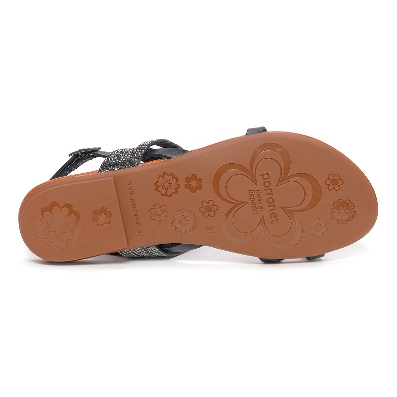 Adultes Noir Chaussures Neuf Porronet Fi107 FB1wxwqt