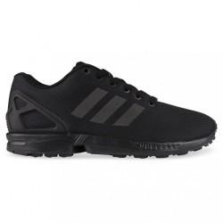 adidas chaussures zx flux - black, toile, tissu