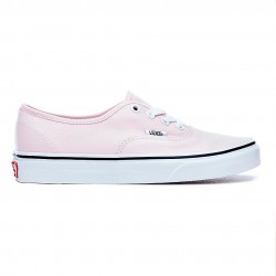 vans chaussure authentic - new-rose, toile, tissu