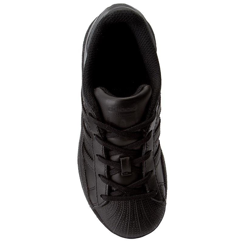 hot sale online 529d5 109d3 Noir Adidas Superstar 28 textile Ba8381 Enfants Cuir Cuir Chaussures  77FrUq5Wn