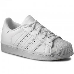 adidas superstar - blanc, cuir, cuir/textile