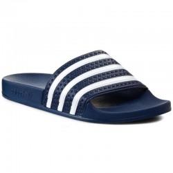 adidas sandale adilette - bleu, synthétic, syntetic.