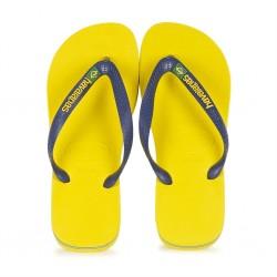 havaianas brasil logo - citrus yellow, caoutchouc, caoutchouc