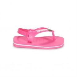 havaianas bébé brasil logo - pink, caoutchouc, caoutchouc