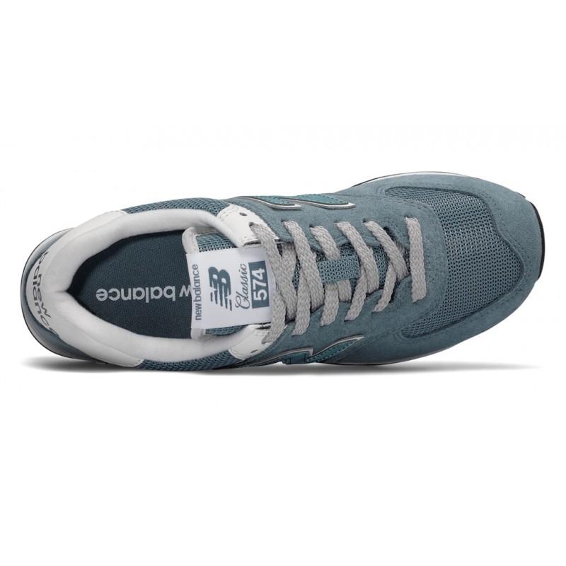 10 suede New Adul Chaussures Balance 37 textile Cuir 658621 Cuir 574 Bleu BnIYwr6gIx