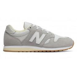 new balance wl 520 cv - gris-clair, cuir/suede, cuir/textile