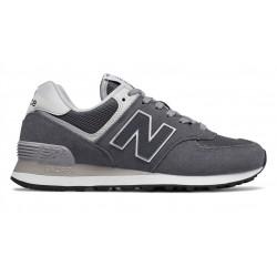 new balance wl574 crd - gris, cuir/suede, cuir/textile