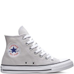 converse chuck taylor seasonal color high - gris, syntetic/textile, textile