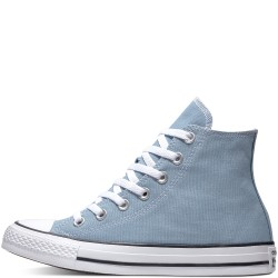 converse chuck taylor seasonal color high - bleu, syntetic/textile, textile