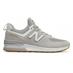 new balance ms574 fcg - gris, cuir/suede, cuir/textile