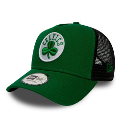 new era boston celtics essential trucker droite -
