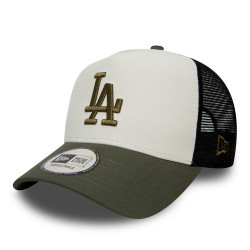 new era los angeles dodgers nylon trucker droite -
