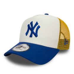 new era new york yankees nylon trucker droite -