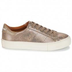 no name arcade sneaker - bronze, cuir, cuir/textile