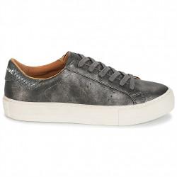 no name arcade sneaker - gris, cuir, cuir/textile