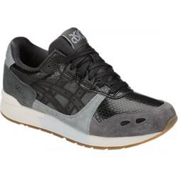 asics gel-lyte - gris-noir, cuir/textile, cuir/textile