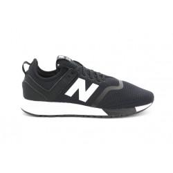 new balance mrl247 - black, cuir/suede, cuir/textile