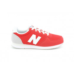 new balance kl220 bcy - rouge, cuir/suede, cuir/textile